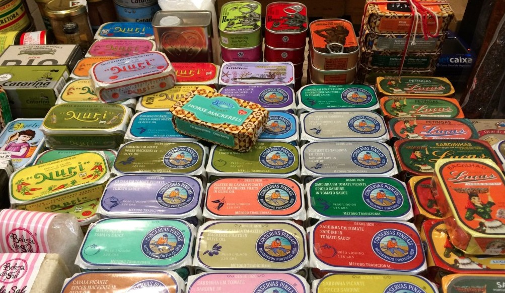 sardine cans
