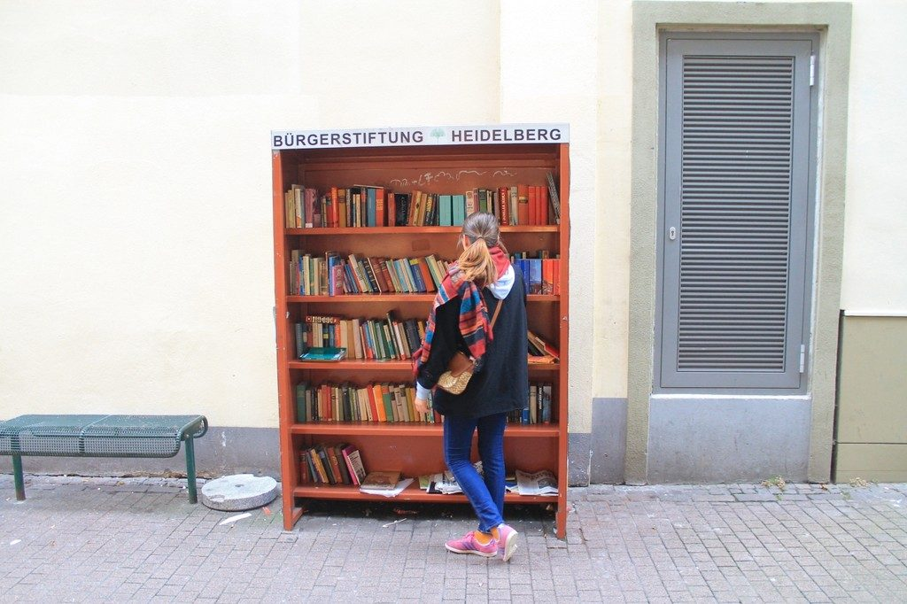 Street library, Heidelberg