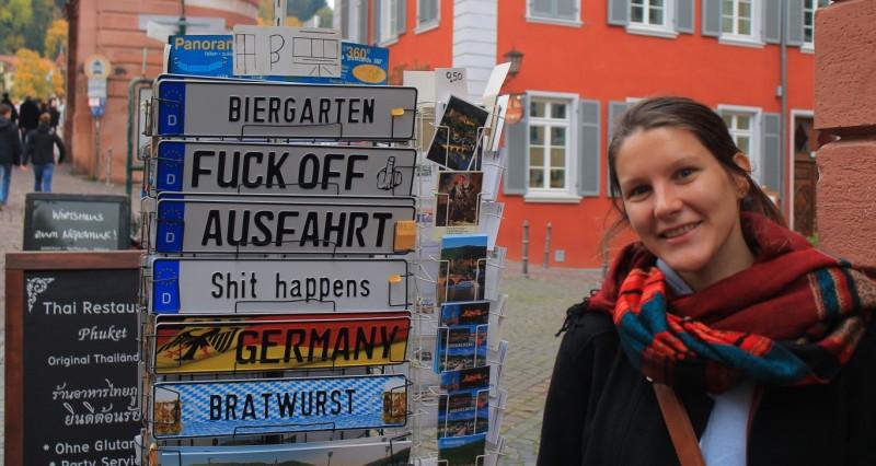 Getting welcomed in Heidelberg