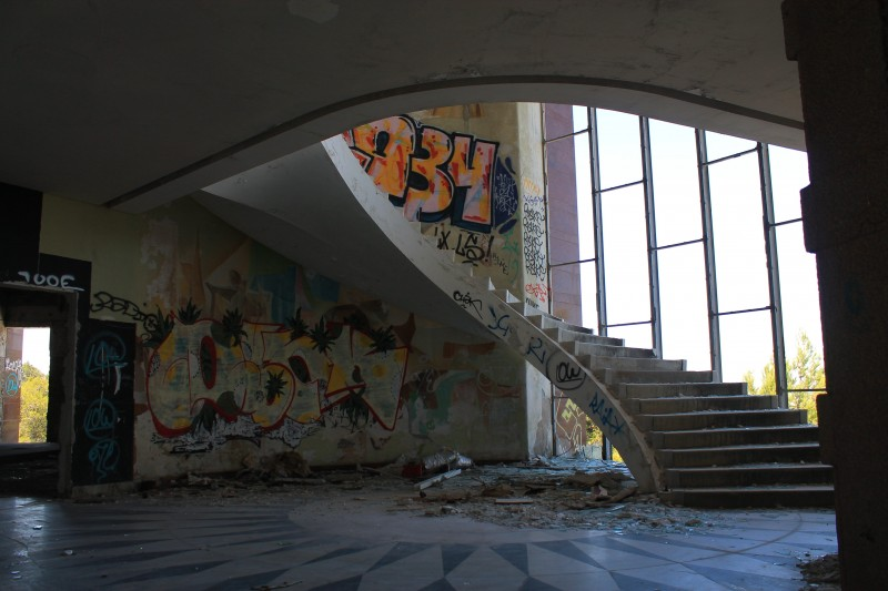 Panoramico stairway hall