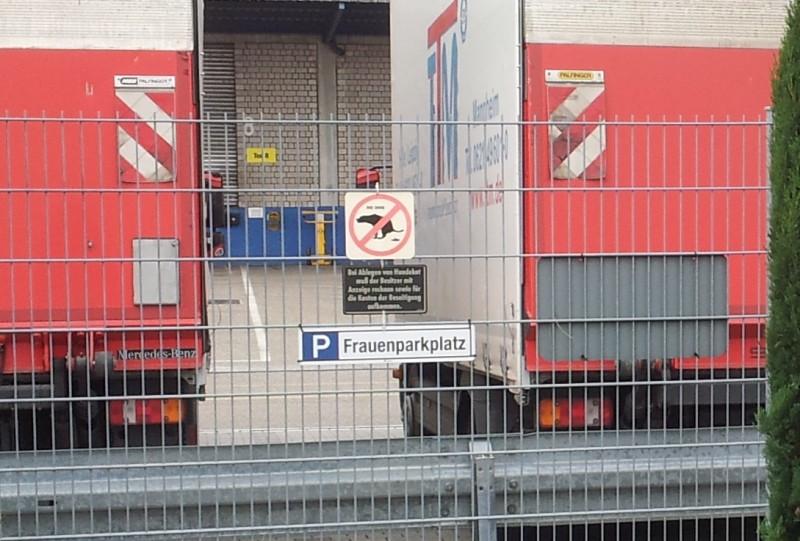 Women's parking