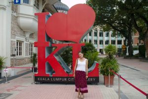 I love Kuala Lumpur sign