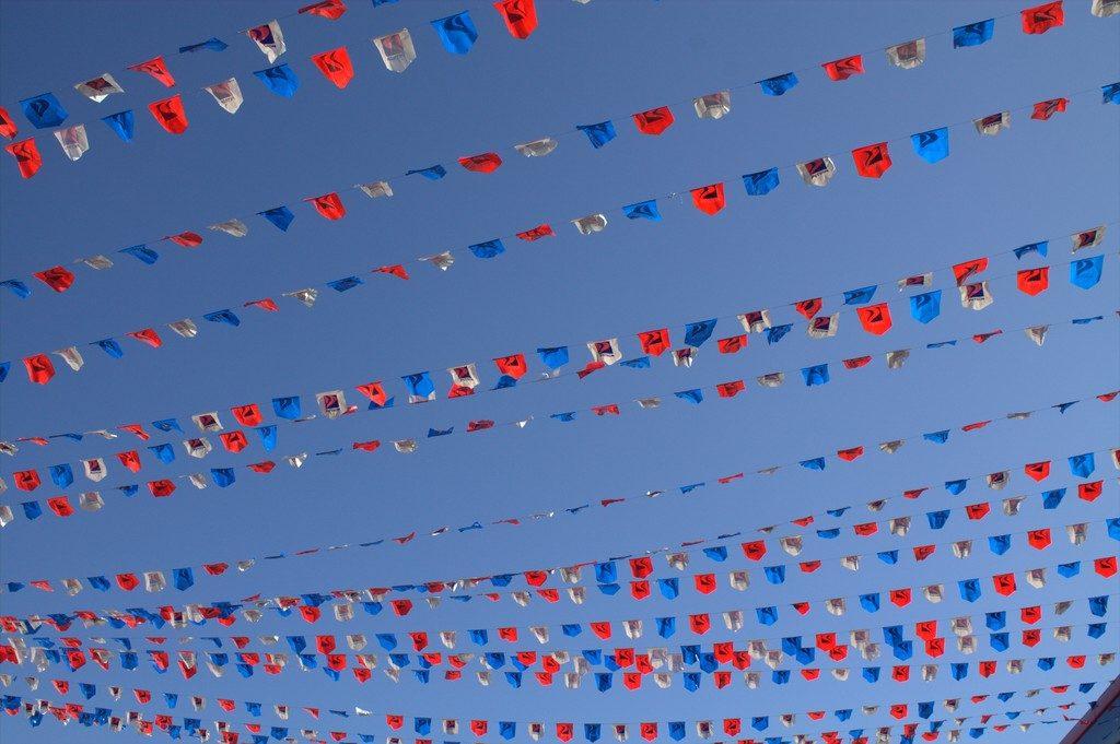 Sinulog festival decoration