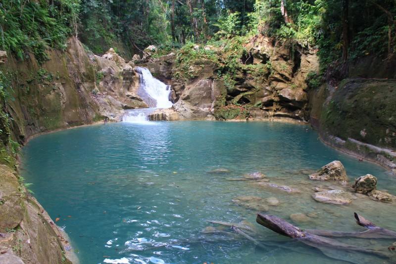 Mag-Aso waterfall