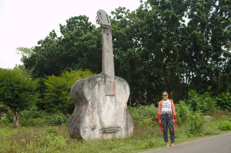 Bohol's giant guitar