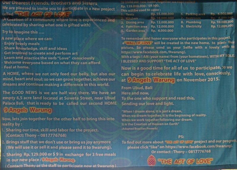 9 Angels Warung banner
