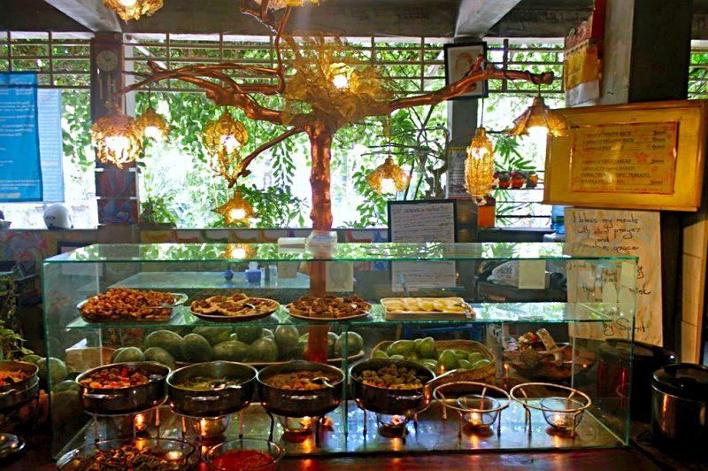 9 Angels Warung food selection