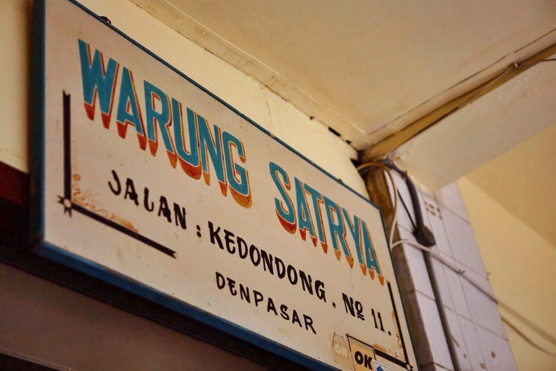 warung sign