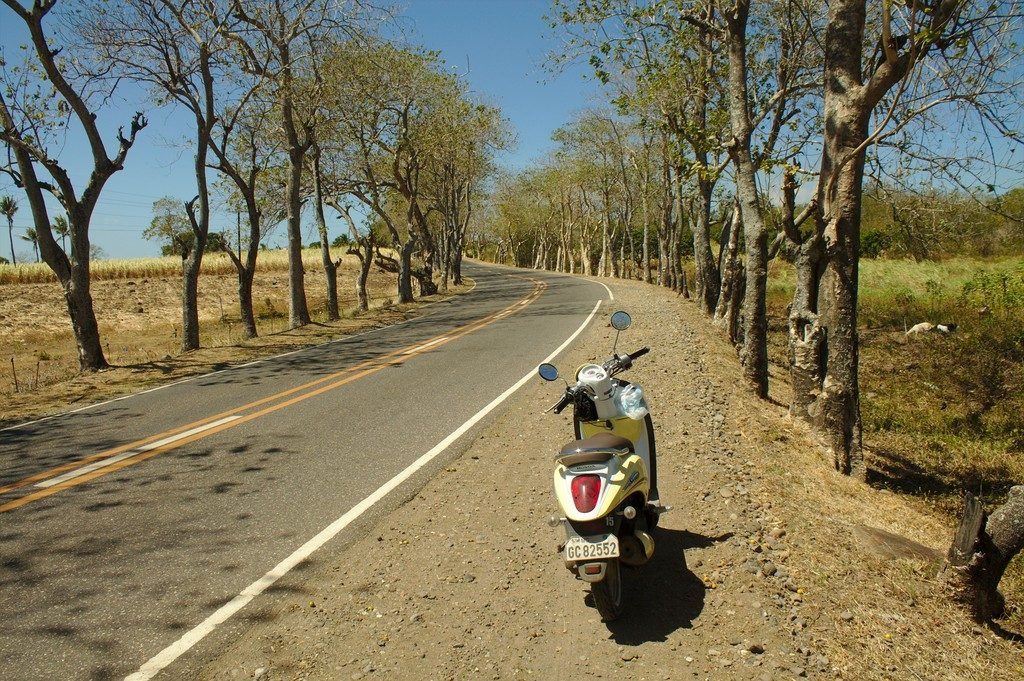 Our Scoopy on the road (Negros Island)