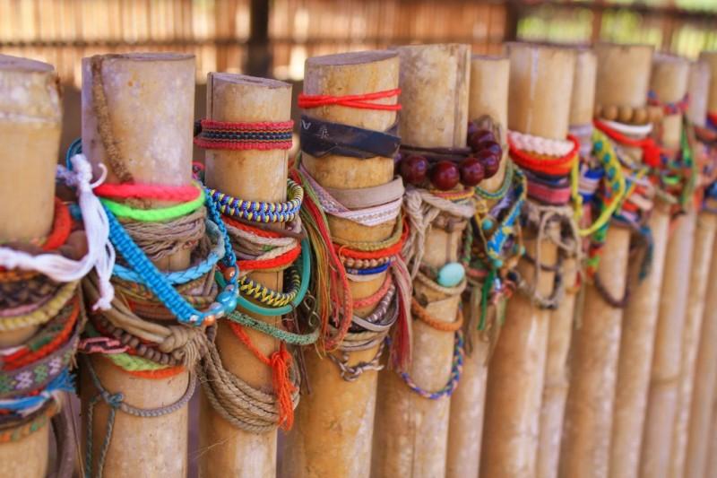 Choeung Ek killing fields Phnom Penh - bracelets