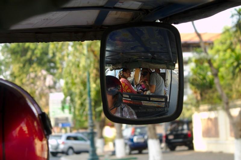 On the tuktuk