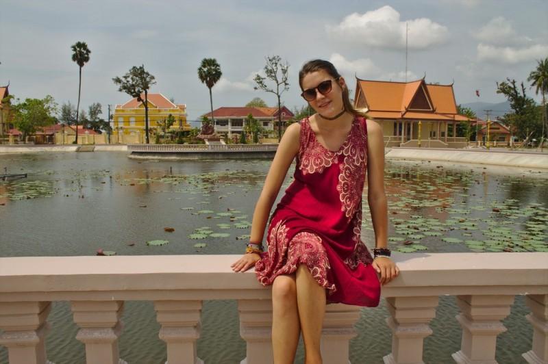 Kampot's Lily Pond