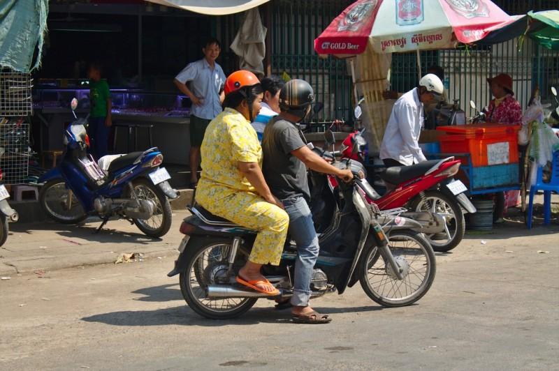 Cambodian pajamas