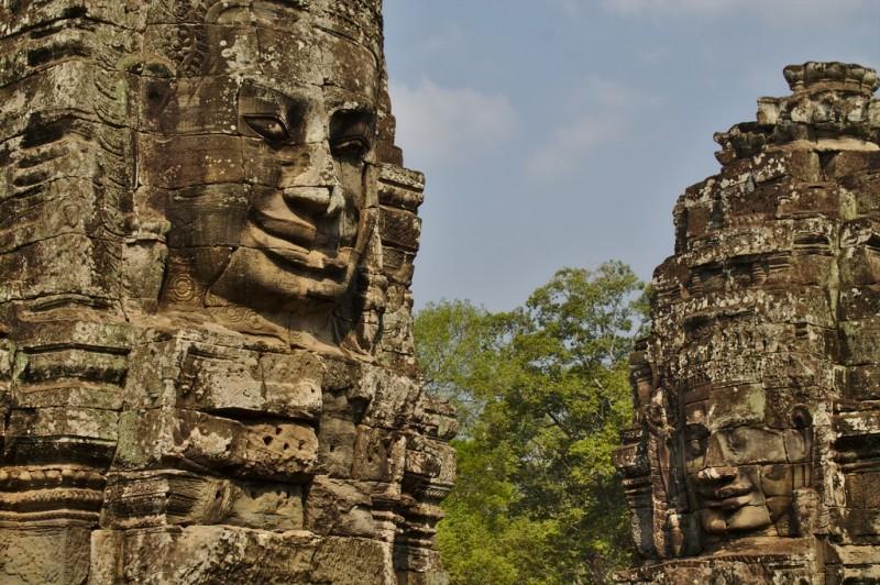 Faces of Angkor Wat