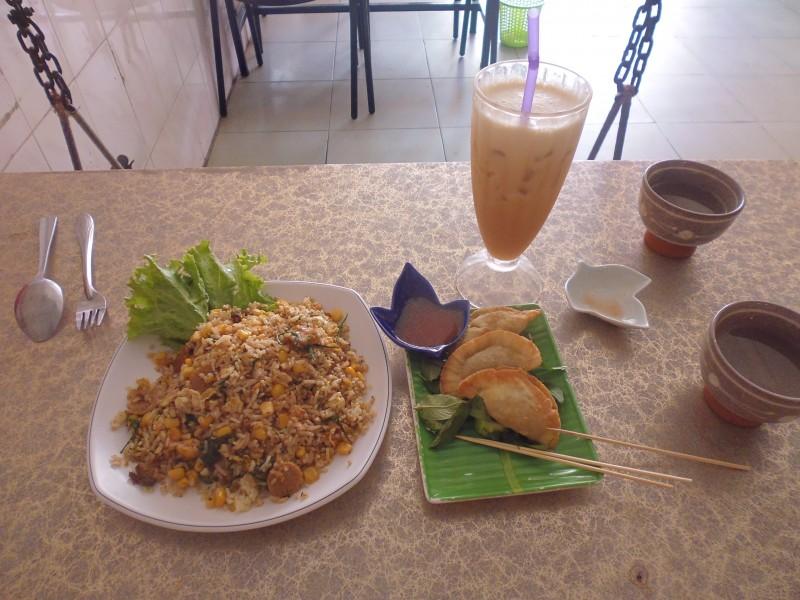 Vegetarian food Phom Penh