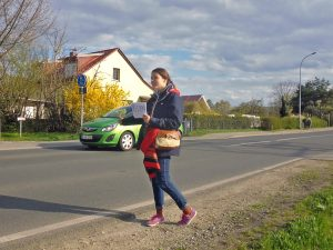 Hitchhiking in Berlin