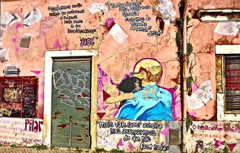Lisbon Santa Apolonia Streetart