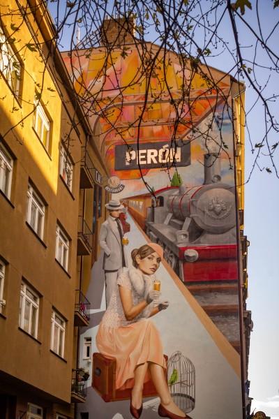 Prague street art, Andel, Stroupežnického