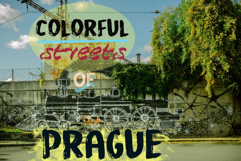 Colorful streets of Prague
