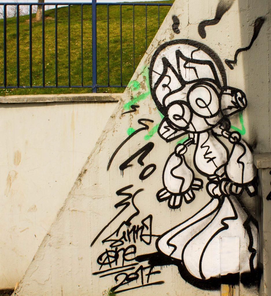 Prague streetart, Vltavská