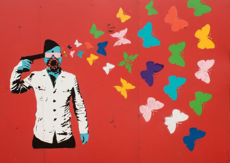 Prague streetart, Argentinská, Breaking Bad