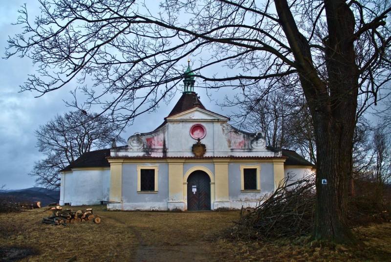 Viewpoint Křížová Hora in Český Krumlov