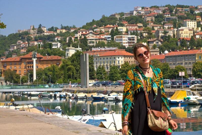 Rijeka city