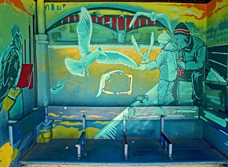 Smíchovské nádraží, street art