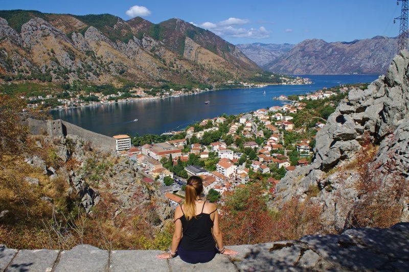 Montenegro, Kotor, fortress, latter of Cattaro