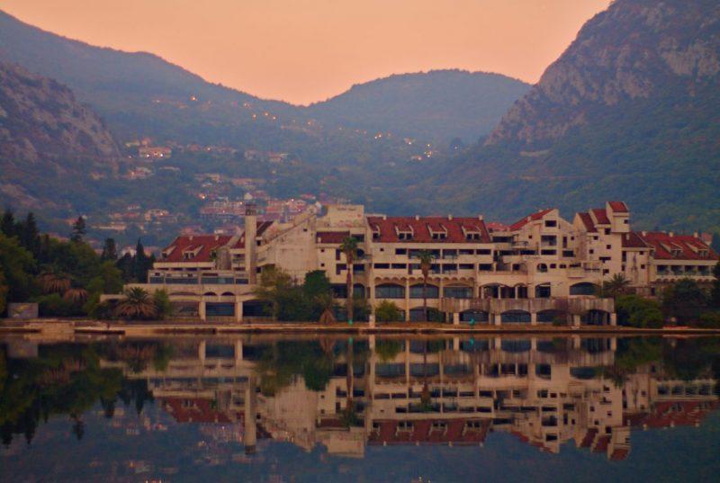 Montenegro, Kotor, Hotel Fjord, sunrise