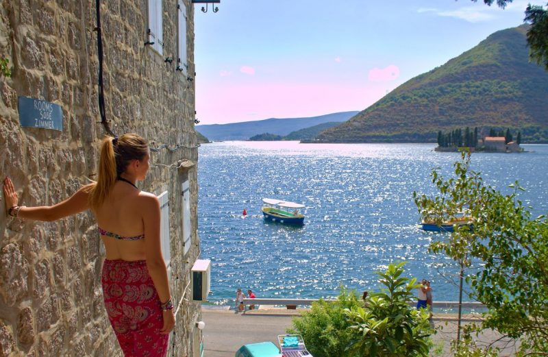 Montenegro, Perast, islands