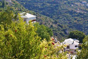 A Greek landscape from Mount Pelion