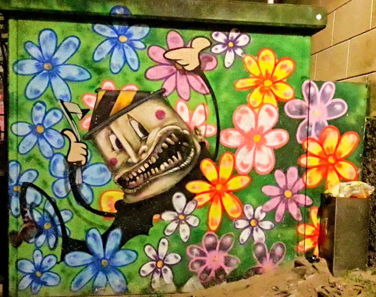 Graffiti Klokstraat, Leeuwarden
