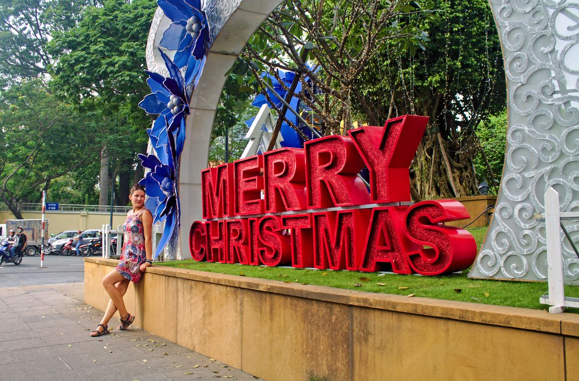 Celebrating Christmas in South East Asia