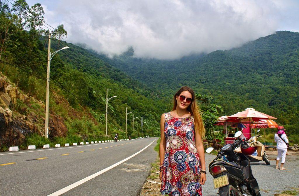Tina at Monkey Road, Da Nang, Vietnam