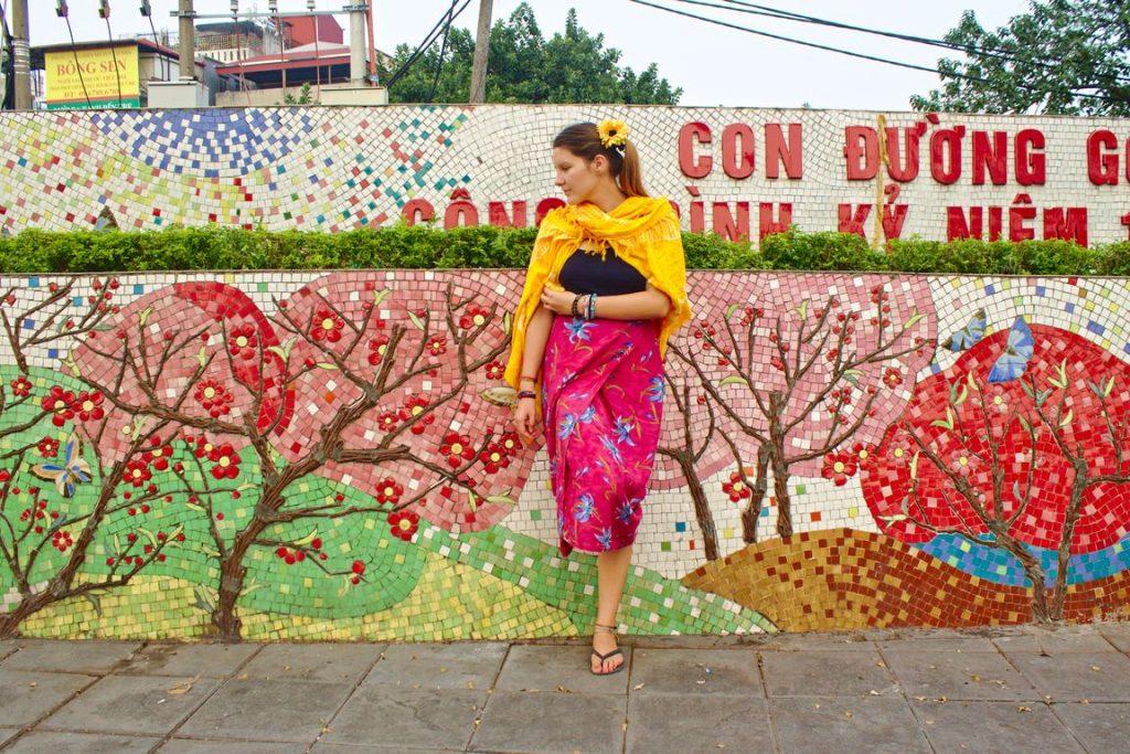 Tina at the Search Results Web results Hanoi Ceramic Mosaic Mural, Vietnam