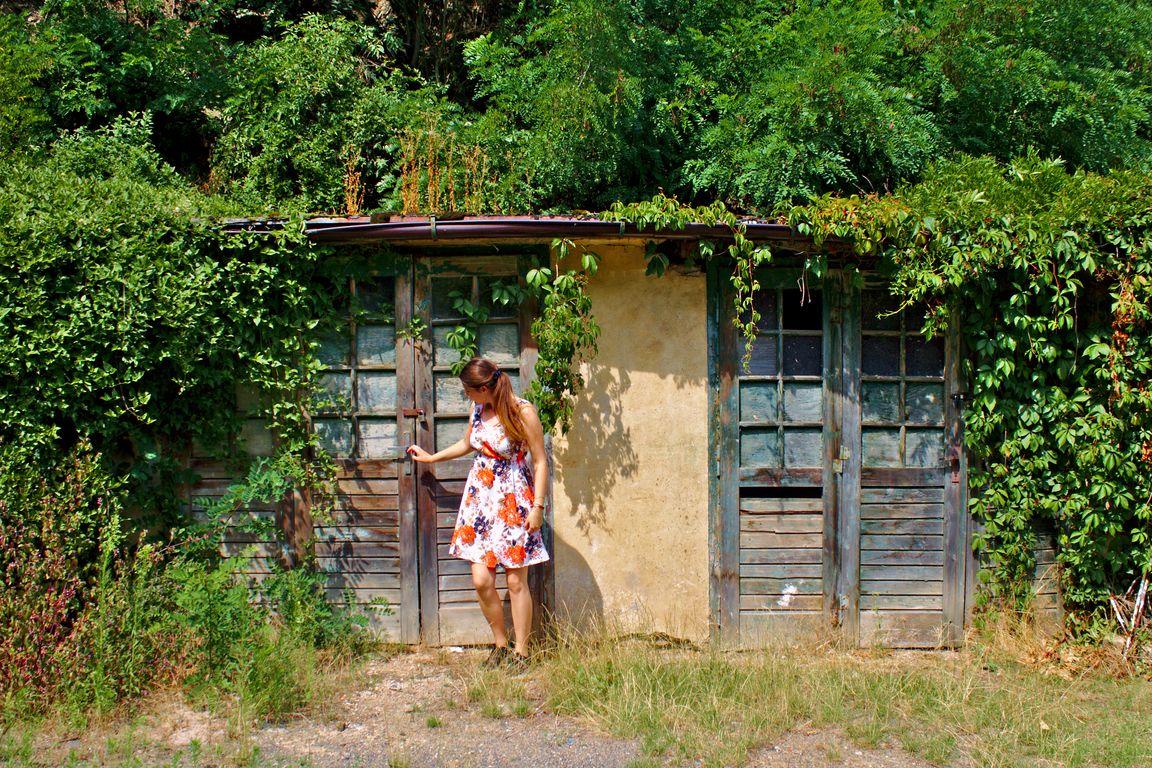 Overgrown shed, Malá Chuchle, Prague
