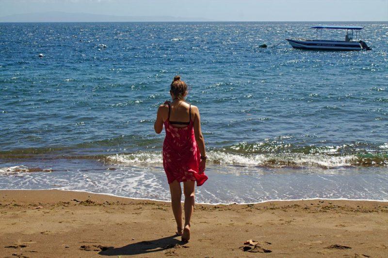 Calm Beach of Negos, Philippines