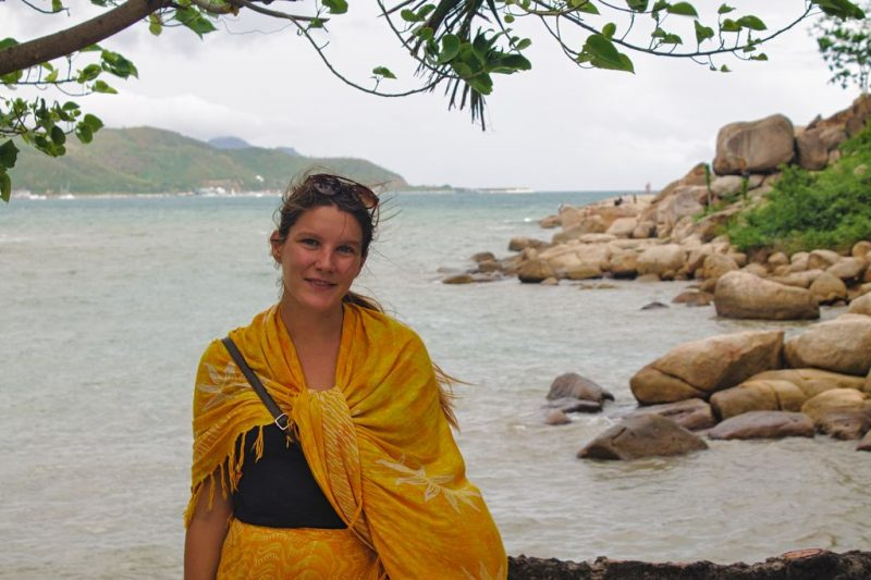 Tina at Hon Chong, Nha Trang, Vietnam