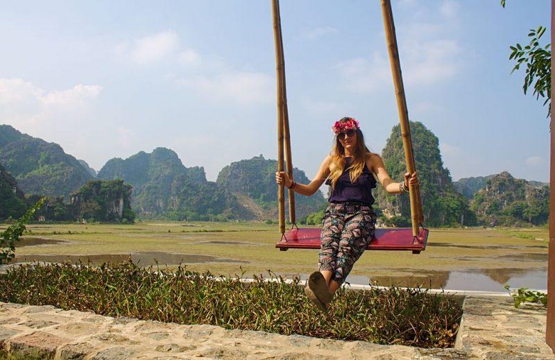 The swings of Hang Múa