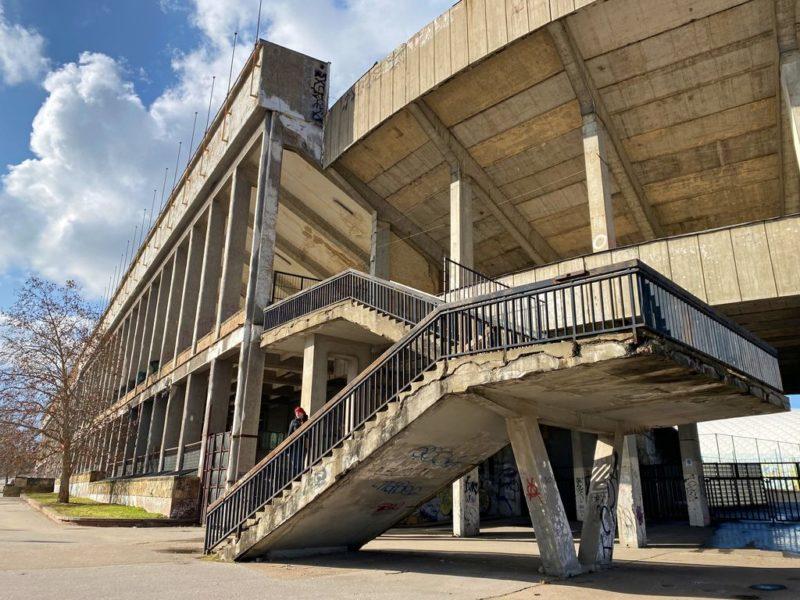 Stadium Strahov, Stairway, Prague