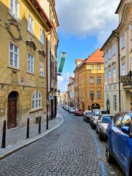 Abandoned Prague old town during the pandemic, Prague