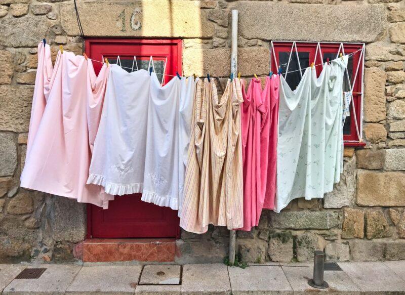 clothesline, Camino Portugues