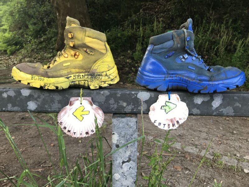 hiking boots, Camino Portugues