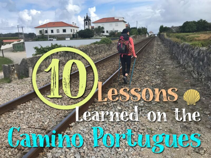 10 Lessons learned on the Camino Portugues