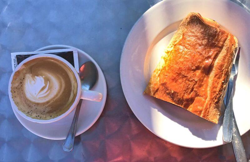 offe and cake, Camino Portugues
